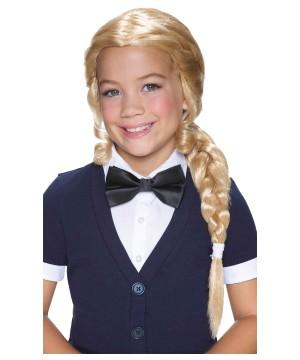 Alice Blonde Braided Girls Wig