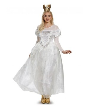 White Queen Woman Alice Through The Looking Glass Costume