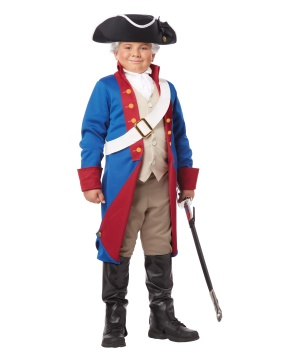 American Patriot Boys Costume Historical Costume