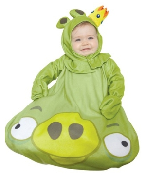 Angry Birds King Pig Bunting Baby Costume