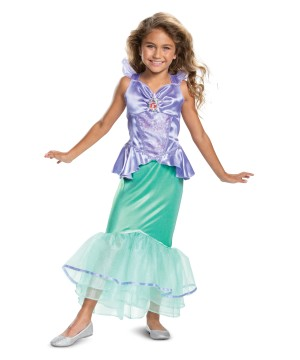 Ariel Classic Girl Costume