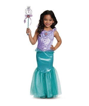 Disney Ariel Girls Costume Deluxe