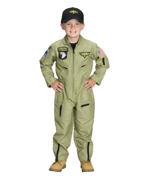 Armed Forces Pilot Toddler/child Boys Costume