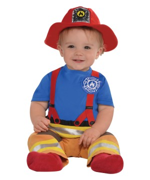 First Fireman Baby Boy Costume
