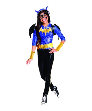 Girls Batgirl Costume Deluxe