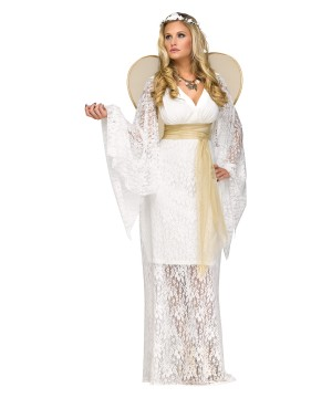 Bath Kol Divine Woman Angel Costume