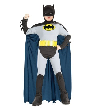 Animated Batman Boys Costume