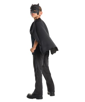 Batman Mask And Cape Boys Costume Kit