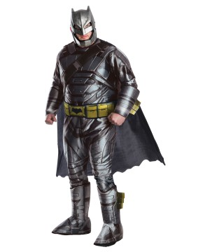 Batman V Superman Movie Batman Plus Size Men Costume