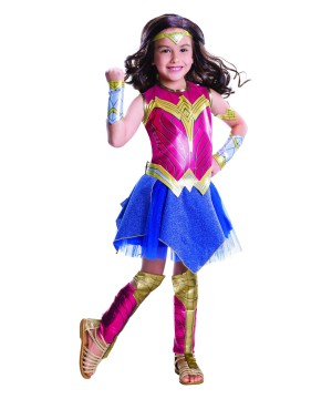 Batman V Superman Wonder Woman Girls Costume Deluxe