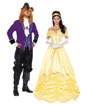 Beauty And The Beast Costume Couple Kit