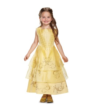 Girls Belle Ball Costume