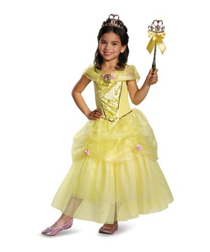 Disney Belle Girls Costume Deluxe