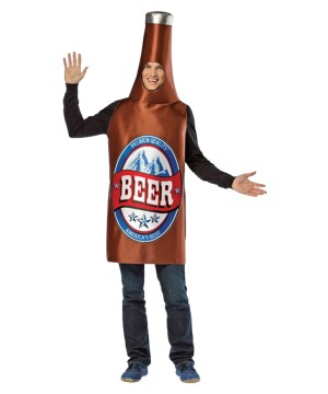 Best Drinking Beer Bottle Men Costume