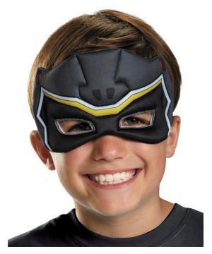 Black Power Ranger Ranger Dino Charge Big Boys Puffy Mask