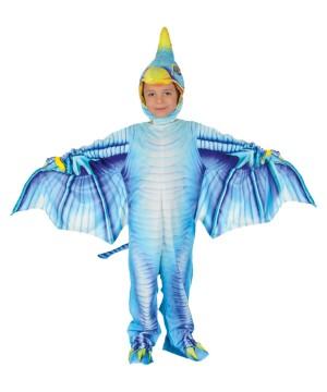 Blue Pterodactyl Child Costume