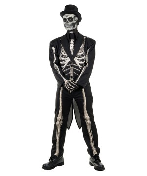 Day Of The Dead Skeleton Man Costume