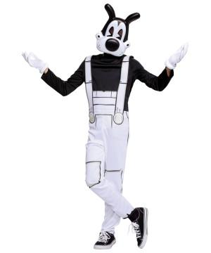 Boys Boris Costume Bendy Machine