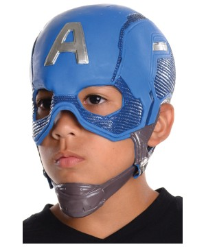 Captain America Boys Mask