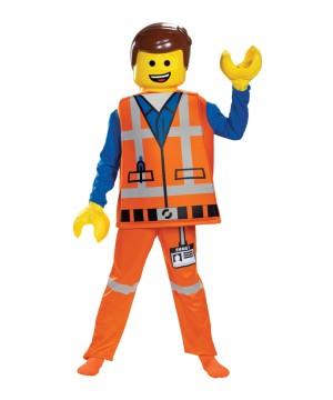 Boys Emmet Lego Costume