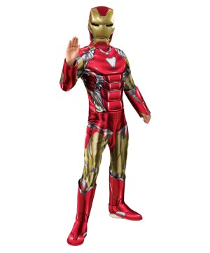 Boys Endgame Iron Man Costume Deluxe