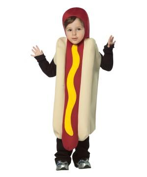 Little Boys Hot Dog Costume