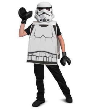 Boys Stormtrooper Basic Costume Lego Star Wars