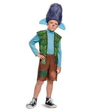 Branch Toddler Costume Trolls Movie