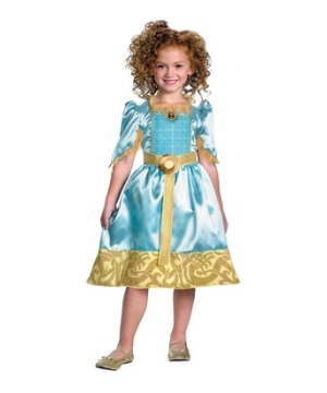 Brave Merida Girl Costume