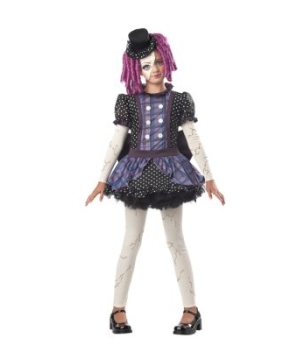 Broken Doll Kids Costume