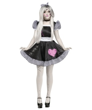 Broken Lolita Doll Womens Costume Deluxe