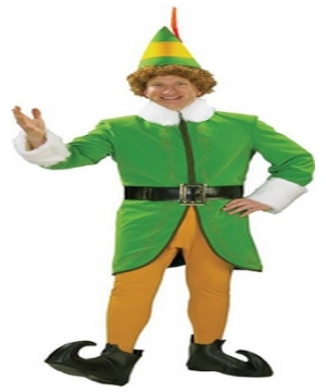 Buddy The Elf Adult Costume Deluxe