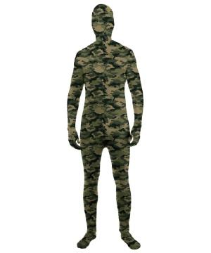 Camouflage Skin Suit Kids Costume