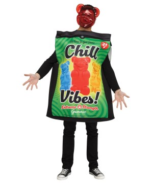 Cannabis Candy Adult Costume