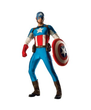 Captain America Men Grand Heritage Costume