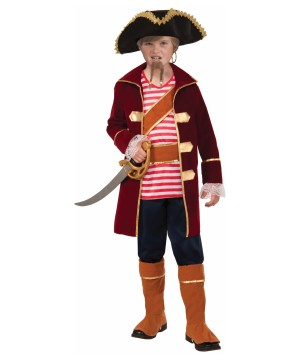 Captain of the Ship Pirate big Boys Costume