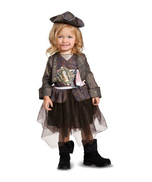 Baby Girls Jack Sparrow Toddler Costume
