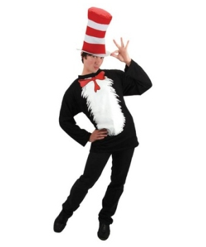 Cat In Hat Adult Costume Kit