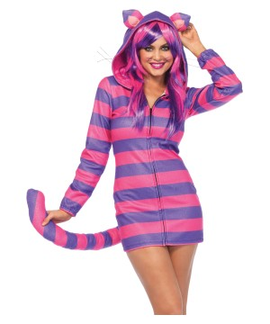 Cozy Cat Cheshire Woman Costume