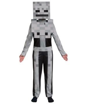 Child Minecraft Skeleton Costume