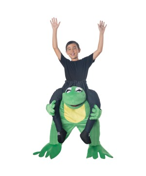 Childrens Carry Frog Costume
