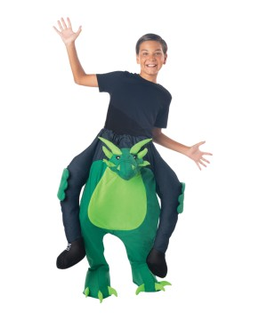 Childrens Carry Me Dragon Costume