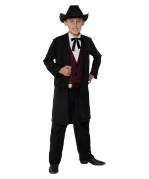 Childrens Gambler Costume