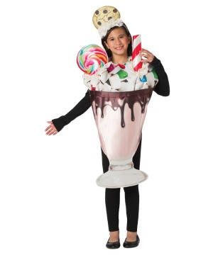 Childrens Milkshake Costume