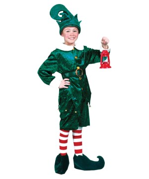 Childs Holly Jolly Elf Costume