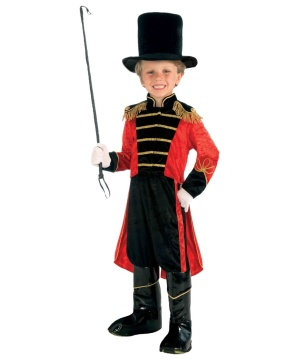 Classic Boy Circus Ring Master Costume