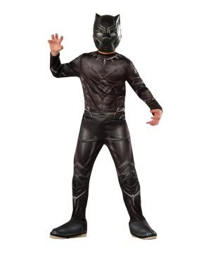 Captain America: Civil War Black Panther Boys Costume