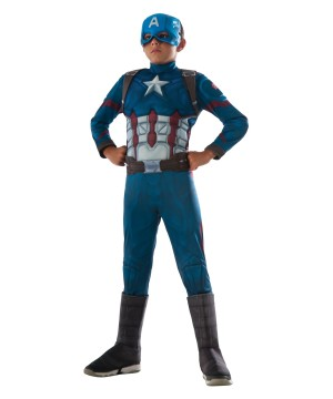 Captain America: Civil War Captain America Boys Deluxe Costume