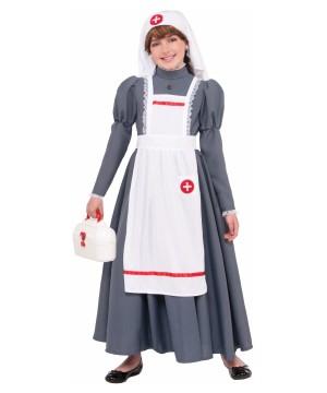 Girls Civil War Nurse Costume