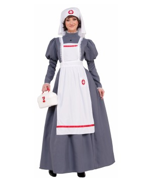 Civil War Women Nurse Costume